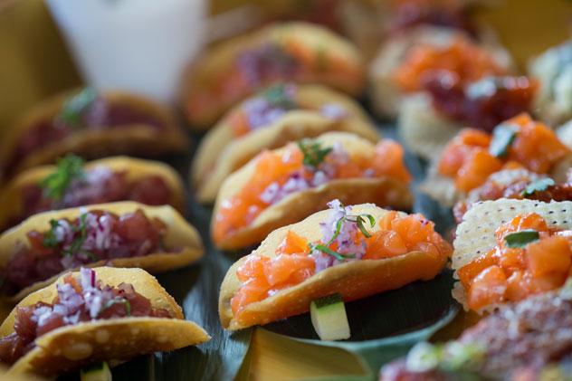 The sushi tacos at Nobu. Photo courtesy of the restaurant.