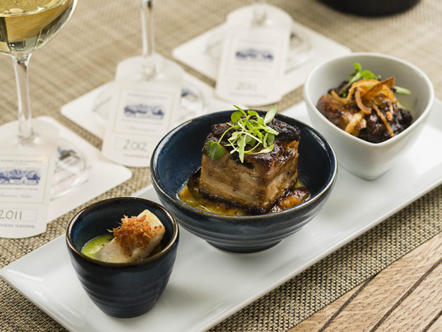 Wine & Food Pairing at Rupert & Rothschild Vignerons. Photo courtesy of the restaurant.