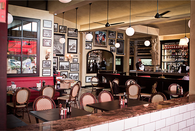 The interior at Remo's Fratelli. Photo courtesy of the restaurant.