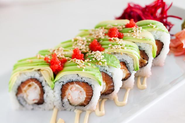 Sushi from Fushin Sushi. Photo courtesy of the restaurant.