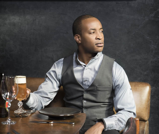 Tinashe Nyamudoka, The Test Kitchen's new head sommelier and beverage manager.  Photo courtesy of the restaurant.