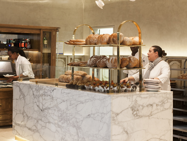 Breads and rolls at tashas le parc. Photo courtesy of the restaurant.