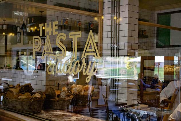 The Pasta Factory window