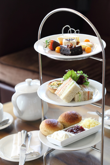 High Tea at The Vineyard Hotel. Photo courtesy of the restaurant.