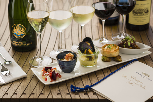 Wines of the World at Rupert & Rothschild Vignerons. Photo courtesy of the restaurant.