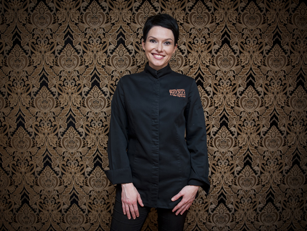 Chef Chantel Dartnall of Restaurant Mosaic at the Orient. Photo courtesy of the restaurant.