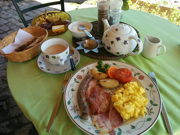 A hearty breakfast at Deli Girls & Bistro. Photo courtesy of the restaurant.