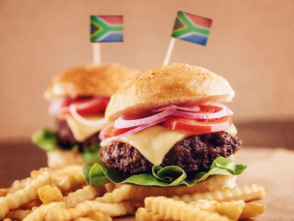 Patriotic burgers