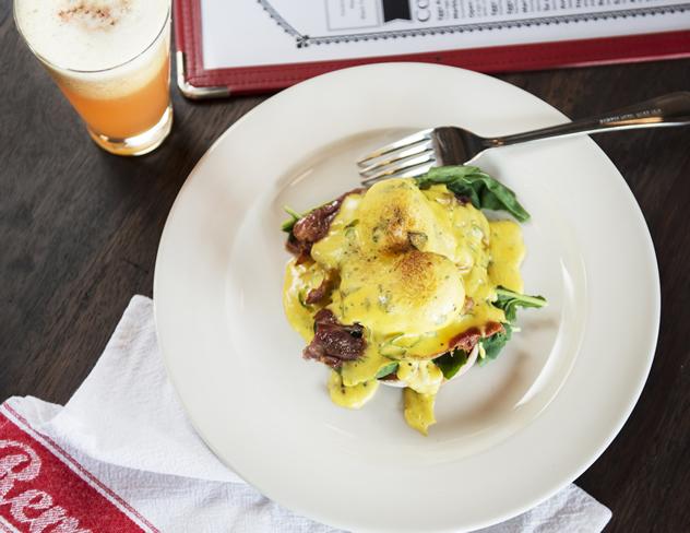 Remo's Villagio version of Eggs benedict. Photo courtesy of the restaurant.