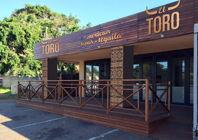 The entrance to El Toro. Photo courtesy of the restaurant.