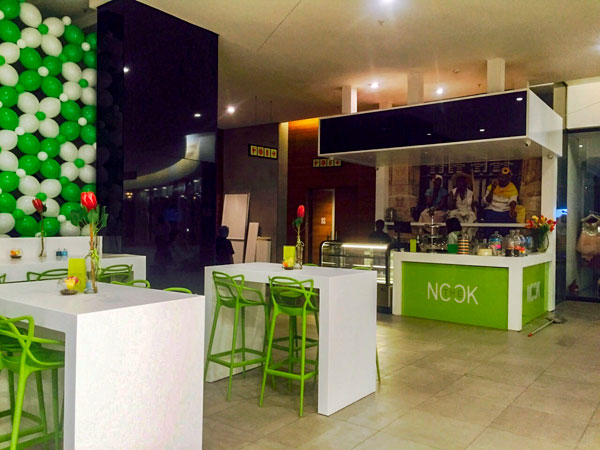 The Nook is a new, affordable lunch spot in Sandton