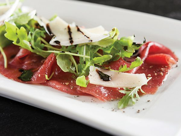 Carpaccio at The Hussar Grill