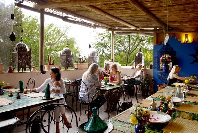 The balcony at La Terrasse. Photo courtesy of the restaurant.