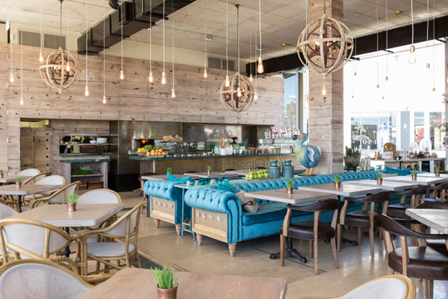 Life grand caf to open in new johannesburg super mall for Waterfall restaurant design