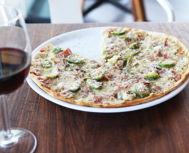 A pizza at Lupa. Photo courtesy of the restaurant.