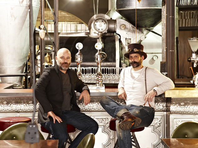 The team at Truth Coffee Roasting HQ. Photo courtesy of Mickey Hoyle and Haldane Martin.