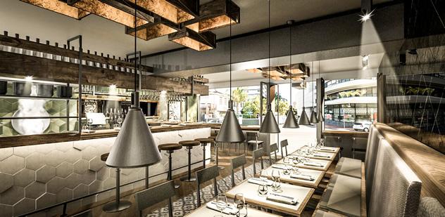 The upmarket interior of Sundoo. Photo courtesy of the restaurant.