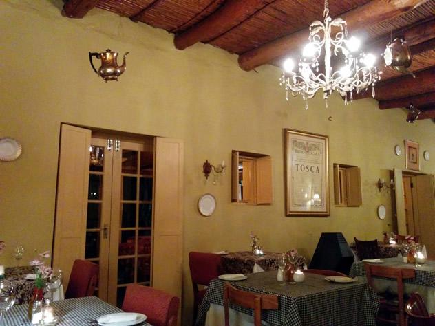 The interior at Tebaldi's Restaurant. Photo courtesy of the restaurant.