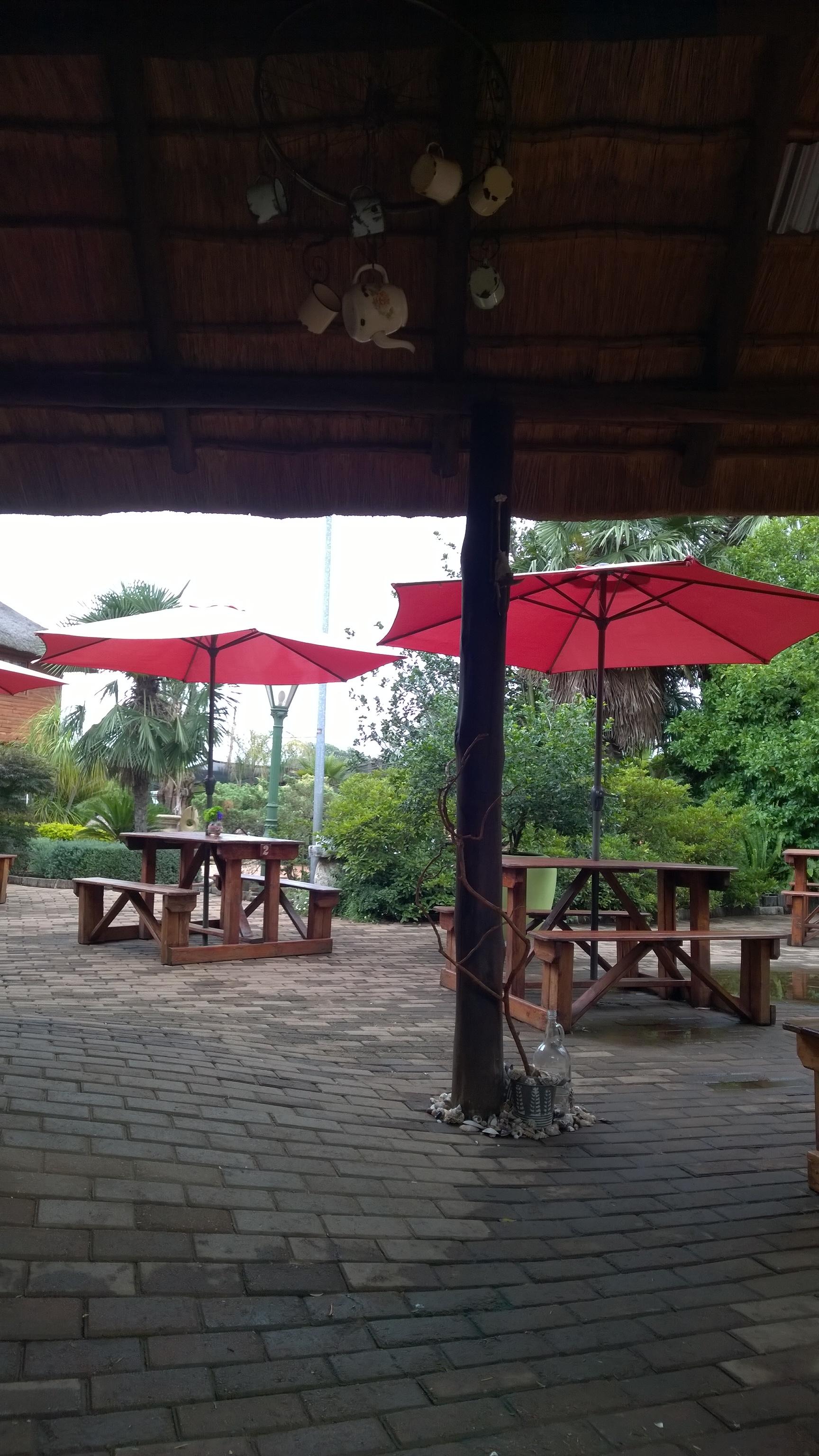 The koi pond caf restaurant in kempton park eatout for Koi pond quezon city