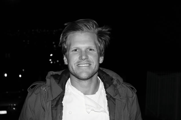 Wynand van Rooyen, co-founder of The Flying Boar Pop-Up Eatery and the youngest winner of the Sunday Times Chef of the Year competition, in 2011.