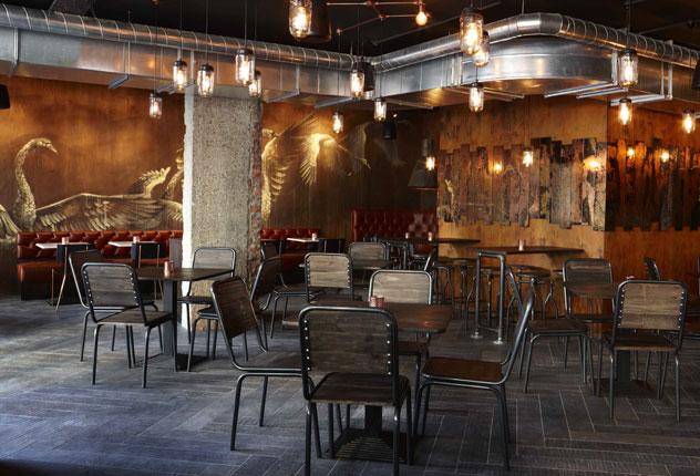 The interior at Charango. Photo courtesy of the restaurant.