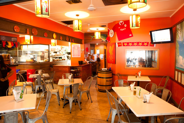 Neo Café on Mackeurtan Avenue. Photo courtesy of Jan Ras.