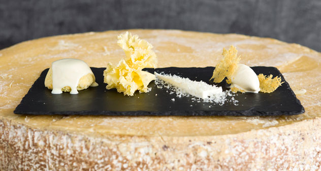 The Four Degrees of Cheese dish at Greenhouse. Photo courtesy of the restaurant.