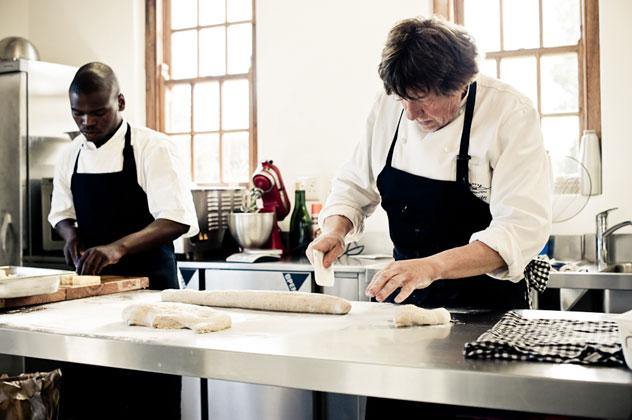 Chef Jürgen at Sprinfontein Eats. Photo courtesy of the restaurant.