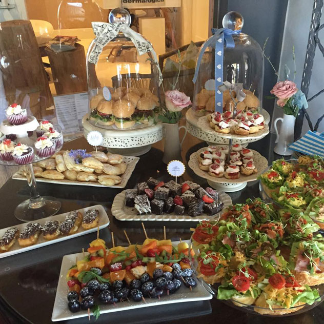 High tea treats at Suburban Café. Photo courtesy of the restaurant.