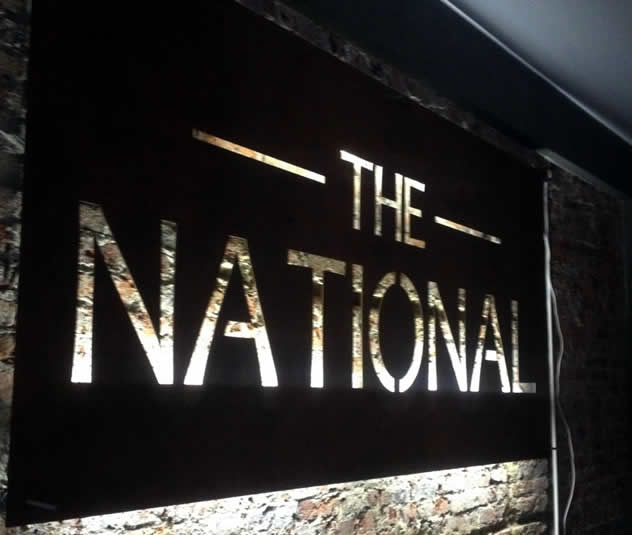 The National. Photo courtesy of the restaurant.
