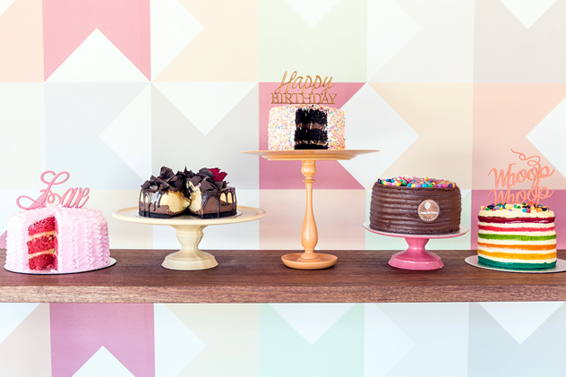 A selection of cakes from The Velvet Cake Co. Photo courtesy of the store.