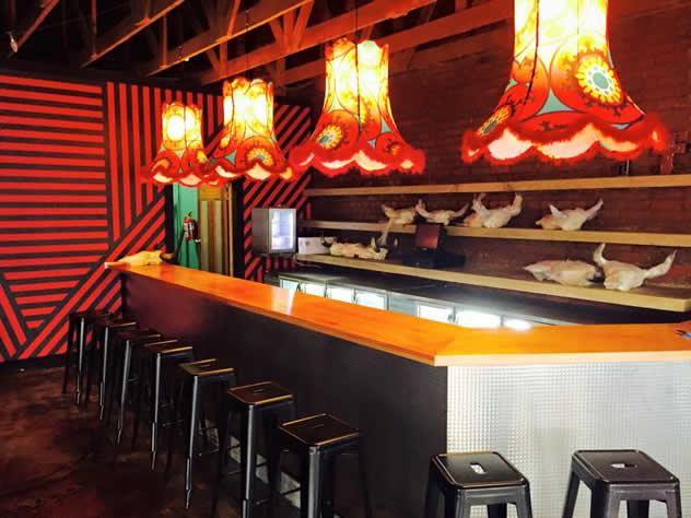 The bar at El Toro. Photo courtesy of the restaurant.