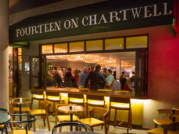 Fourteen on Chartwell