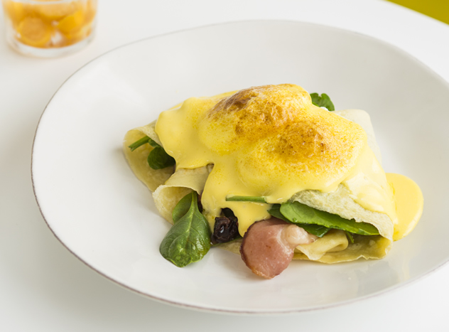 A delicious omelete at Betty Blue Bistro. Photo courtesy of the restaurant.