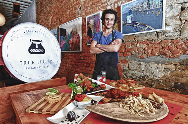 The food at True Italic Rustic Restaurant. Photo courtesy of the restaurant.