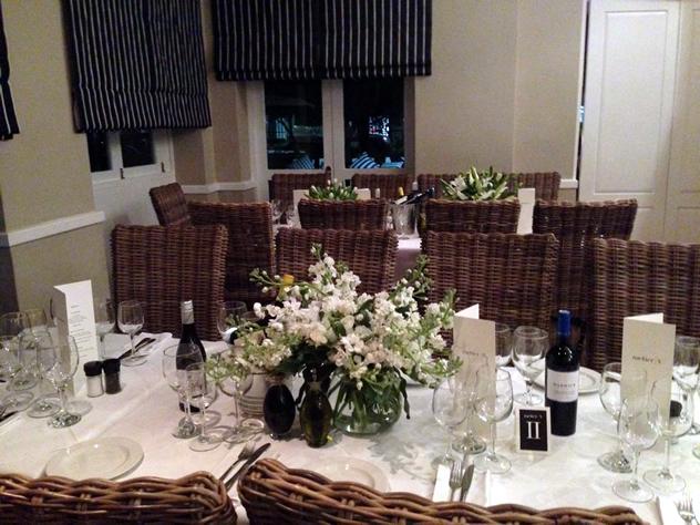 The interior at Bellagio. Photo courtesy of the restaurant.