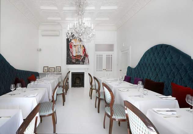The dining room at Cafe Chic. Photo courtesy of the restaurant.