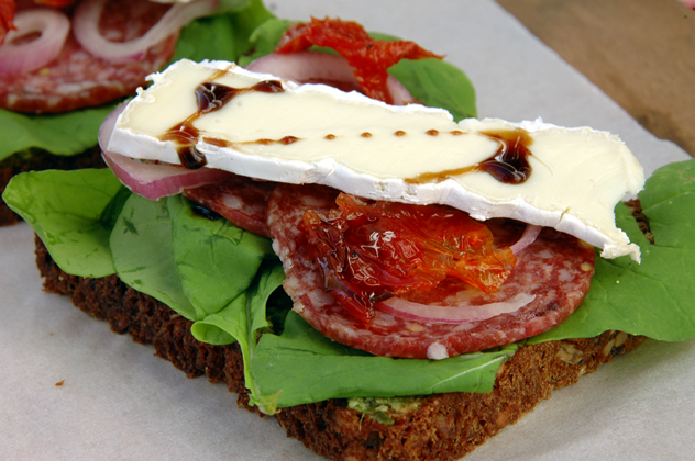 A sandwich from the Pajamas and Jam eatery in Strand. Photo courtesy of the restaurant.