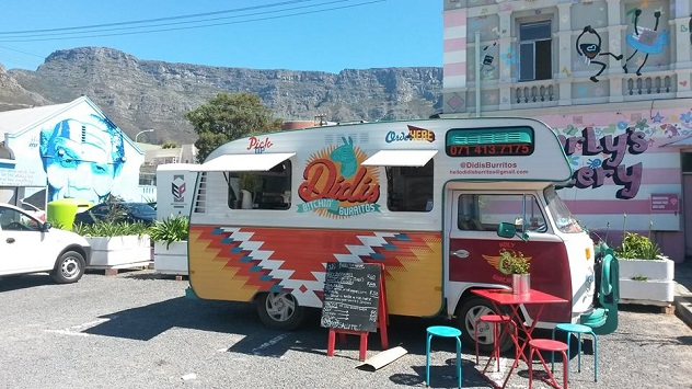 Didi's Bitchin' Burritos in Cape Town. Photo courtesy of the food truck.