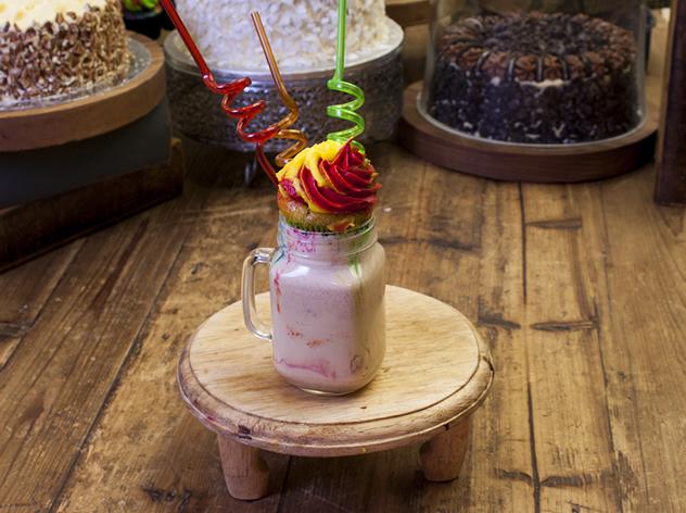 A shake at Walnut Grove. Photo courtesy of the restaurant.