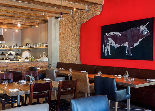 The interior at Foliage. Photo courtesy of the restaurant.