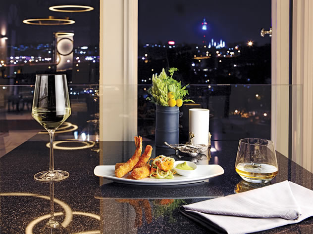 The cuisine at the View Restaurant. Photo courtesy of the restaurant.
