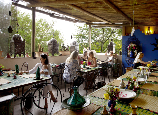 The rooftop at La Terrasse Rooftop Cafe & Deli . Photo courtesy of the restaurant.