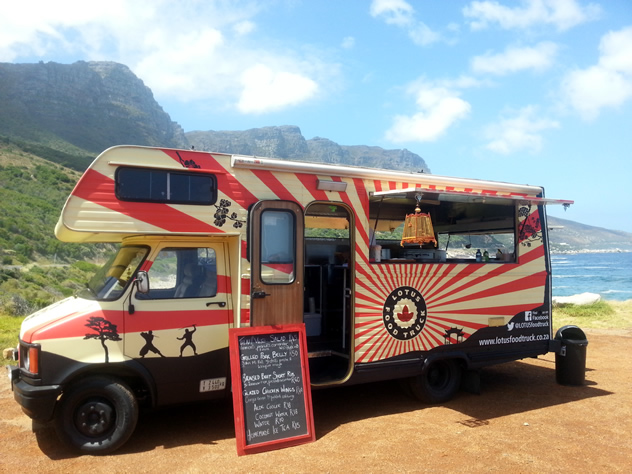The Lotus Food Truck. Photo courtesy of the food truck.