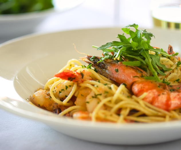 A delightful seafood pasta at the Pronto Italian Deli and Foodstore. Photo courtesy of the restaurant.