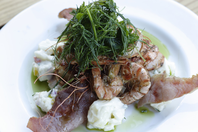 A prawns dish at Rafiki's. Photo courtesy of the restaurant.