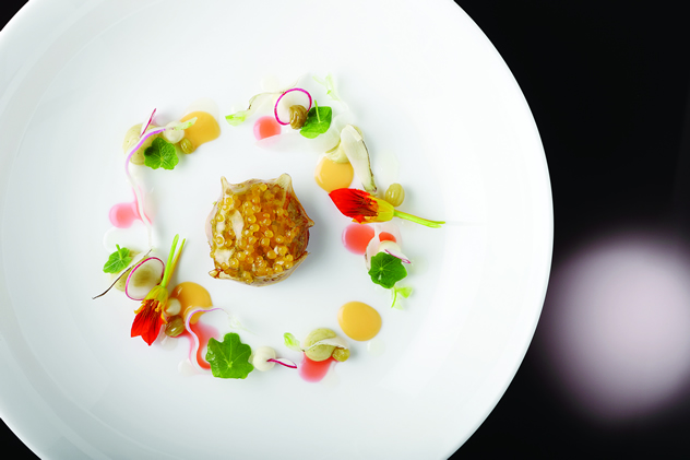 Fine dining at Five Hundred at the Saxon. Photo courtesy of the restaurant.