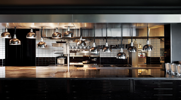 The kitchen at Five Hundred. Photo courtesy of the restaurant.