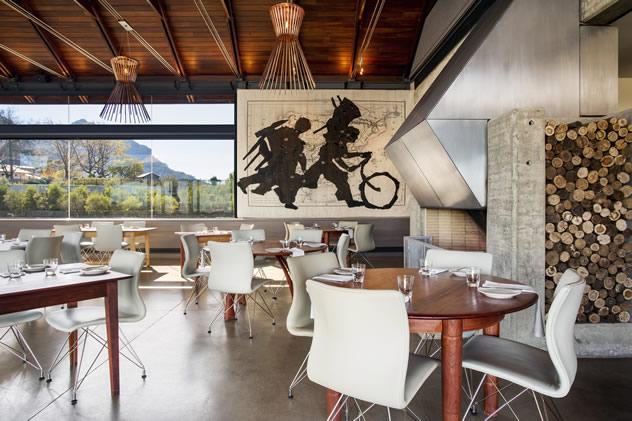 The interior of Tokara Restaurant. Photo courtesy of the restaurant.