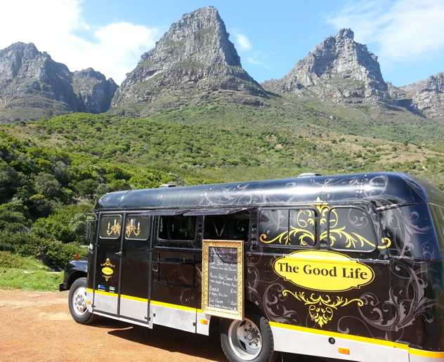 The Good Life food truck. Photo courtesy of the food truck.